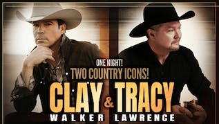 Clay Walker and Tracy Lawrence At  Heart of Oklahoma Expo in Shawnee