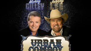 Mickey Gilley & Johnny Lee on the Urban Cowboy Tour 40th Anniversary!